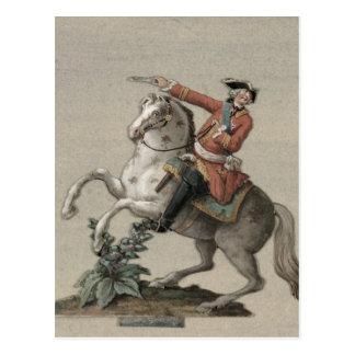 Ruiter portret van Prins Charles Briefkaart