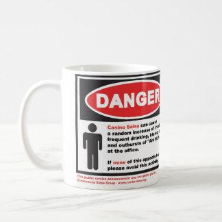 Rumbanana-gevaar Koffiemok