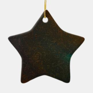Runen Keramisch Ster Ornament