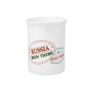 Rusland daar Gedaan dat Drank Pitcher