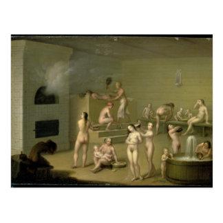 Russisch Bad, 1825 Briefkaart