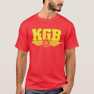 Russisch Geel Overhemd KGB/Rood T Shirt