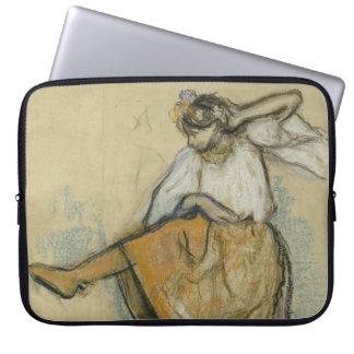 Russische Danser door Edgar Degas Laptop Sleeve Hoesje