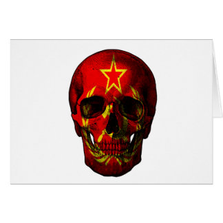 Russische vlagschedel briefkaarten 0