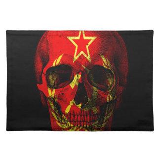 Russische vlagschedel placemat