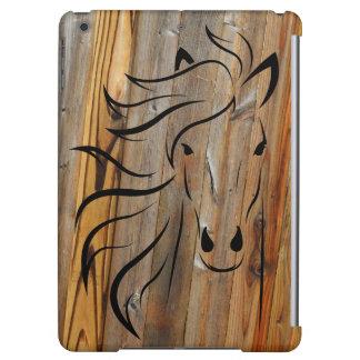 Rustiek Hout en Wild paarden