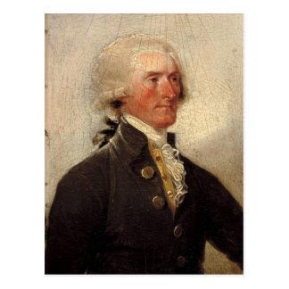 Rustiek Thomas Jefferson Painting Briefkaart
