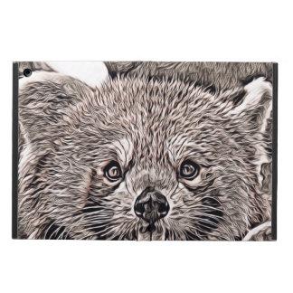 Rustieke Stijl - Rode Panda 2 iPad Air Hoesje