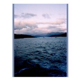 Rustige golven briefkaart