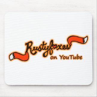 Rustyfoxes op Youtube Kleur Klantgerichte Mousepad Muismat