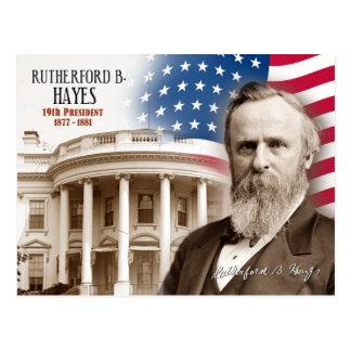 Rutherford B. Hayes - 19de President van de V.S. Briefkaart