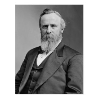 Rutherford B. Hayes Briefkaart