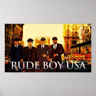 """Ruwe Jongen de V.S. - Poster 36"""" x 24 """" van de"""