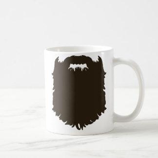 Ruwe mannelijke baard koffiemok