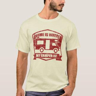 Rv, Camper Van Owners het Wild Kamperen T Shirt