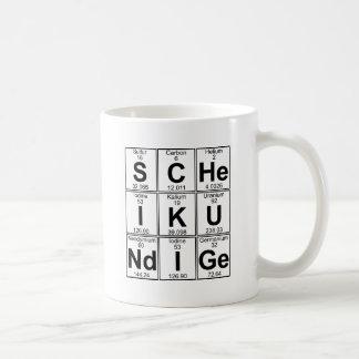 S-c-hij-I-k-u-Nd-I-GE (scheikundige) - Hoogtepunt Basic Witte Mok
