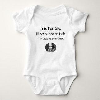 S is voor Sluw • Een kleine Shakespeare Weinig Romper