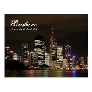 's nachts Brisbane Briefkaart