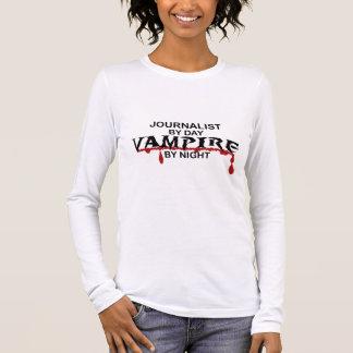 's nachts de Vampier van de journalist T Shirts