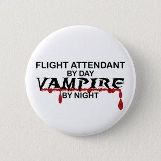 's nachts de Vampier van de steward Ronde Button 5,7 Cm