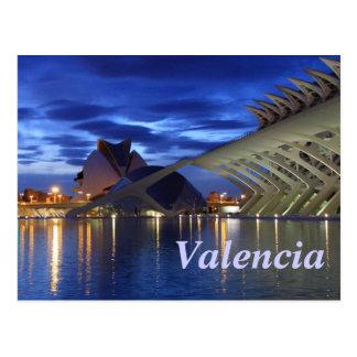 's nachts Valencia Briefkaart