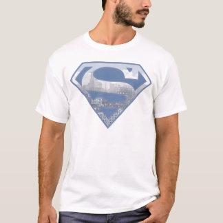 S-Schild | van de superman het Lichtblauwe Logo T Shirt