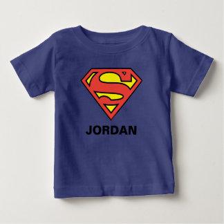 S-Schild | van de superman het Logo van de Baby T Shirts