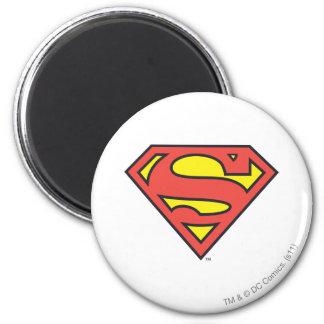 S-Schild | van de superman het Logo van de Ronde Magneet 5,7 Cm