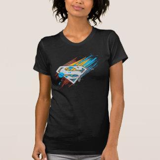 S-Schild | van de superman het Logo van de Stroken T Shirt