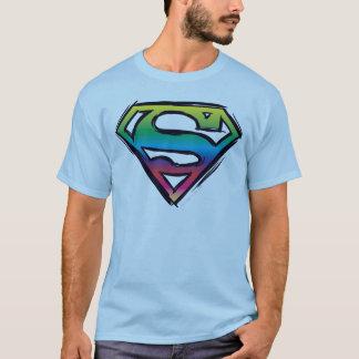 S-Schild | van de superman het Logo van de T Shirt