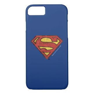 S-Schild | van de superman het Zwarte Logo van het iPhone 8/7 Hoesje