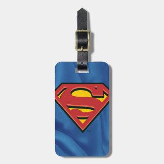 S-Schild | van de superman Klassiek Logo Kofferlabel