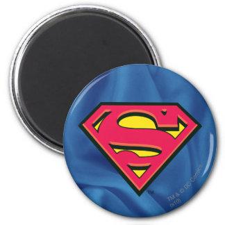S-Schild | van de superman Klassiek Logo Ronde Magneet 5,7 Cm