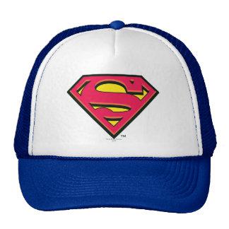 S-Schild   van de superman Klassiek Logo Trucker Petten