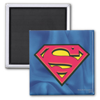S-Schild | van de superman Klassiek Logo Vierkante Magneet