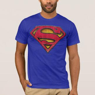 S-Schild | van de superman Verontrust Logo T Shirt