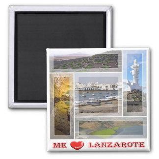 S - Spanje - Lanzarote - de Liefde van I - het Vierkante Magneet