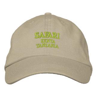 Safari Geborduurde Pet