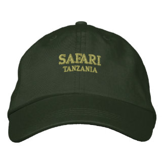 Safari Tanzania Geborduurde Pet
