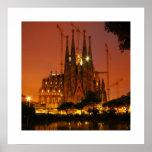 Sagrada Familia, Barcelona - Spanje Posters