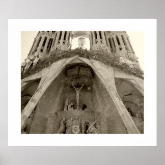 Sagrada Familia van Gaudi Poster