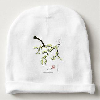 sakura met groene vogels, tony fernandes baby mutsje