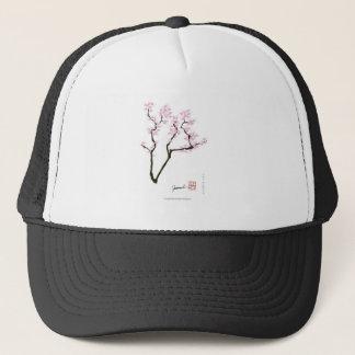 sakura met roze goudvis, tony fernandes trucker pet