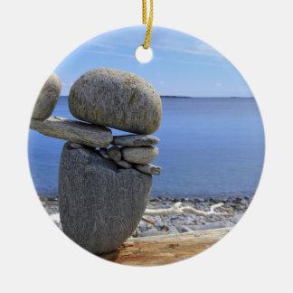 Saldo Rond Keramisch Ornament