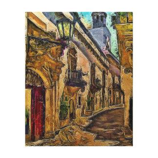 Salerno, Italië Canvas Afdrukken