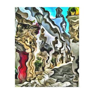 Salerno, Italië Stretched Canvas Afdrukken