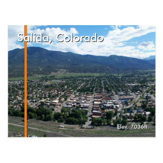 Salida, Colorado II Briefkaart
