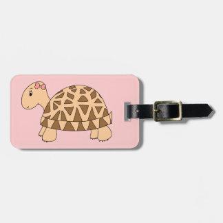 Sally Star Tortoise Luggage Tag Bagagelabel