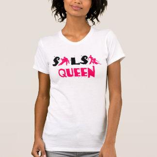 SALSA KONINGIN T-shirt - voor de minnaars van de