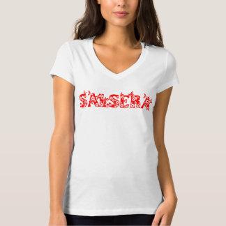 SALSERA t-shirt met bloemontwerp